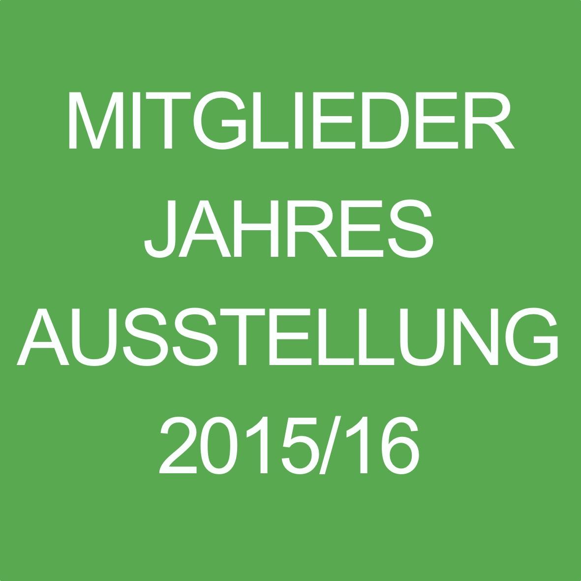 Mitgliederjahesausstellung 2016